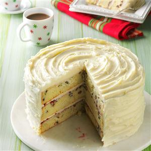 White Chocolate Christmas Torte Recipe