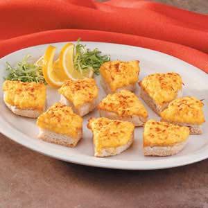 Buttery Crab Bites Recipe