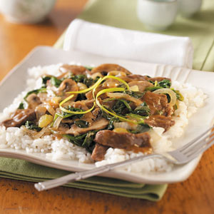 Asian Beef Vegetable Stir-Fry Recipe