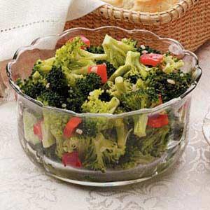 Marinated Broccoli Recipe