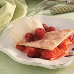 Fruit-Filled Quesadillas Recipe