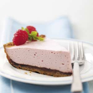 Chocolate-Raspberry Mousse Pie Recipe