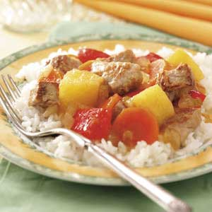Pork 'n' Pineapple Stir-Fry Recipe