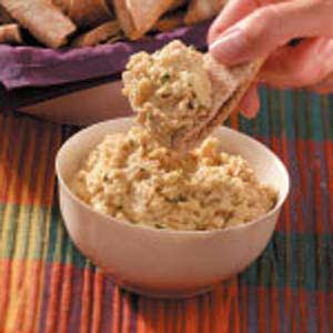 Quick Garlic Bean Dip
