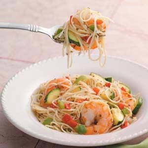 Pepper Shrimp Scampi Recipe