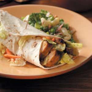Flavorful Turkey Wraps Recipe