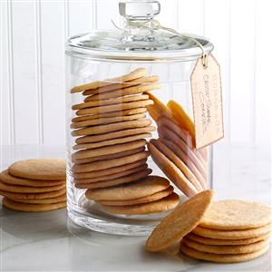 Crisp Sugar Cookies Recipe