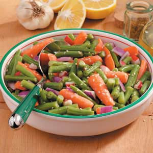 Bean and Carrot Salad Recipe