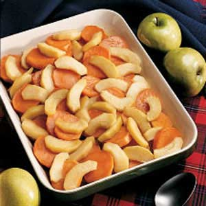 Maple Glazed Sweet Potatoes Recipe