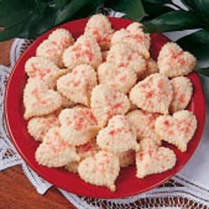 Valentine Butter Cookies Recipe