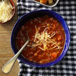 Italian-Style Lentil Soup Recipe