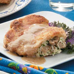 Swiss-Stuffed Chops Recipe