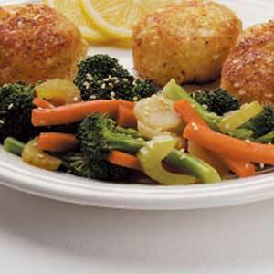 Sesame steamed vegetables recipe taste of home sesame steamed vegetables recipe forumfinder Choice Image