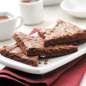 Luscious Fudgy Brownies Recipe