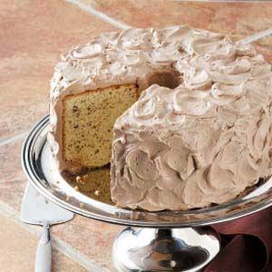Hazelnut Chiffon Cake Recipe