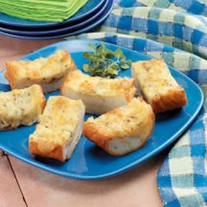 Oregano-Swiss Slices Recipe