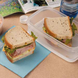 Apple-Herb Club Sandwich Recipe
