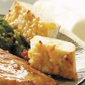 Three-Cheese Garlic Bread Recipe