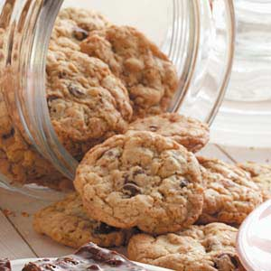 Oat Chocolate Chip Cookies Recipe