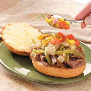 Italian Steak Sandwich Recipe
