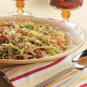 Zippy Chicken Coleslaw Recipe