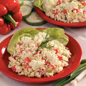 Cucumber Couscous Salad Recipe