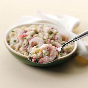 Shrimp 'n' Shells Salad Recipe