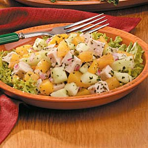 Peach Chicken Salad Recipe