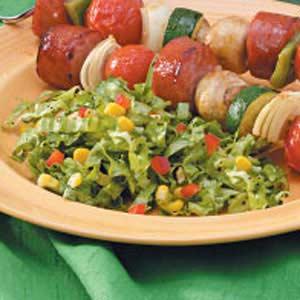Corny Lettuce Salad Recipe