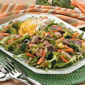 Hearty Stir-Fry Salad Recipe