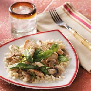 Ginger Mushroom Chicken Recipe