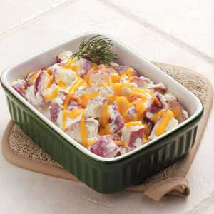 Dill Potatoes Romanoff Recipe