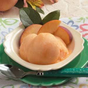 Peach Sorbet Recipe