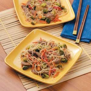 Asian Flank Steak Stir-Fry Recipe
