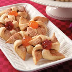 Fruit-Filled  Windmill Rolls Recipe