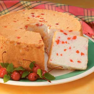 Cherry Angel Food Cake Recipe