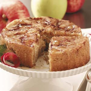 Cinnamon Apple Honey Cake Recipe