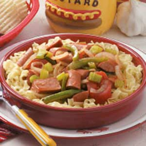 In-A-Hurry Hot Dog Dinner Recipe