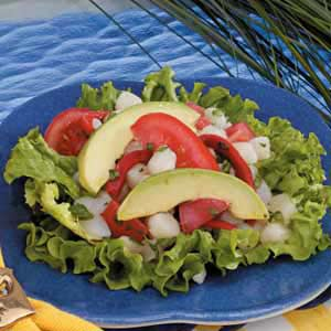 Southwest Scallop Salad Recipe
