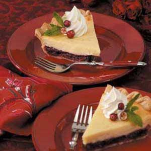 Cheesecake Cranberry Pie Recipe