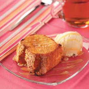 Butterscotch Angel Cake Recipe