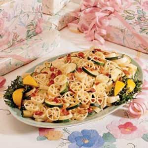 Zucchini-Garlic Pasta Recipe