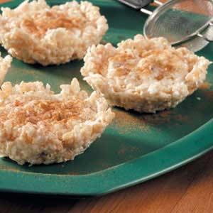 Rice Pudding Tartlets