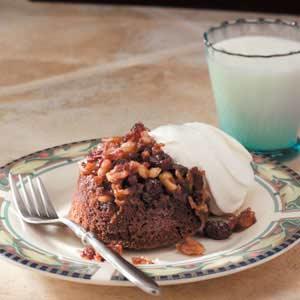 Cranberry Upside-Down Cakes Recipe