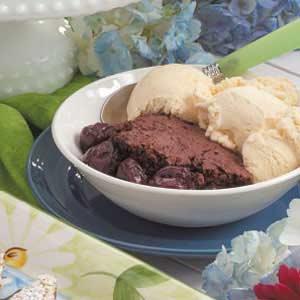 Chocolate Cherry Cobbler Recipe