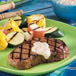 Steaks with Chipotle Sauce Recipe