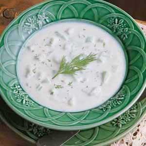Cucumber Potato Soup