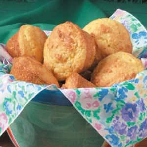 Parmesan Corn Muffins Recipe