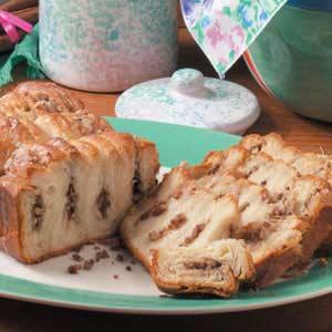 Tender Cinnamon Nut Loaf Recipe