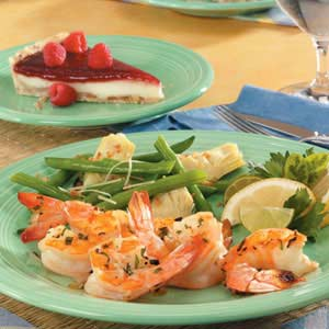 Onion Tarragon Shrimp Recipe